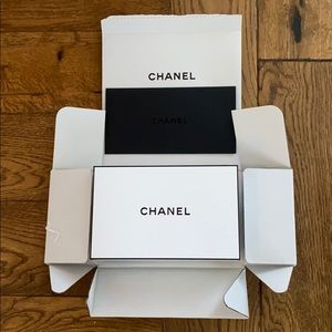 Chanel Gift Box with envelope for card